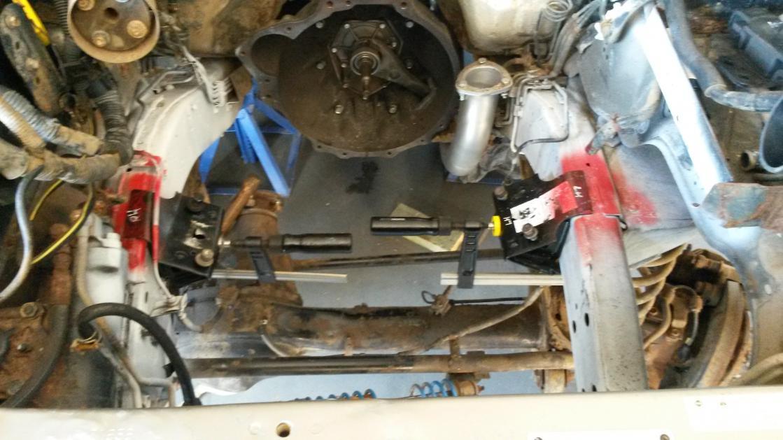 Series 2 TD42 GU radiator shroud same as 4 5?   Patrol 4x4 - Nissan