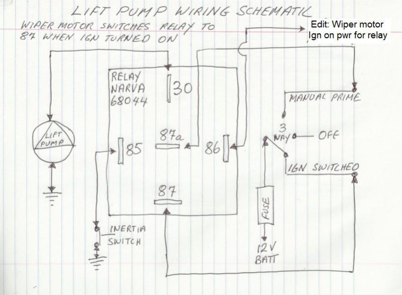 Carter Fuel Pump Wiring Diagram from www.patrol4x4.com