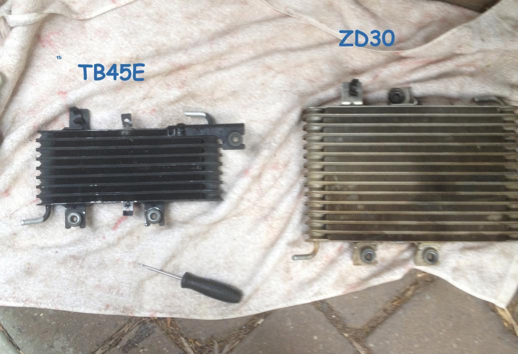 Zd30 Egr Cooler