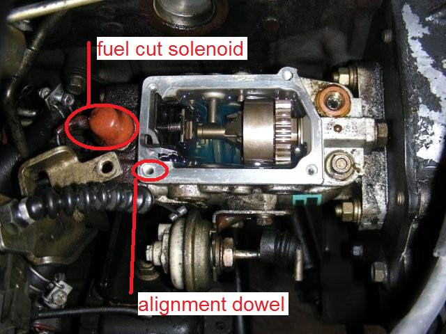 Injection Pump Governor Seal Replacement (IP on vehicle) | Patrol