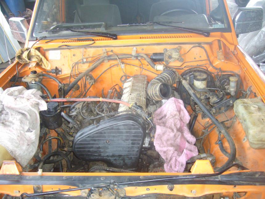 engine swap finally!   Patrol 4x4 - Nissan Patrol Forum