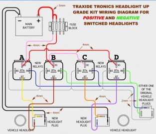 gq headlight wiring upgrade patrol 4x4 nissan patrol forum street rod headlight wiring diagram nissan patrol headlight wiring diagram #7