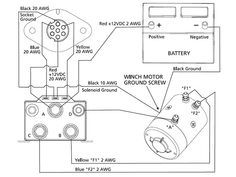 Wiring A High Mount Winch Patrol 4x4, Warn Winch Motor Wiring Diagram