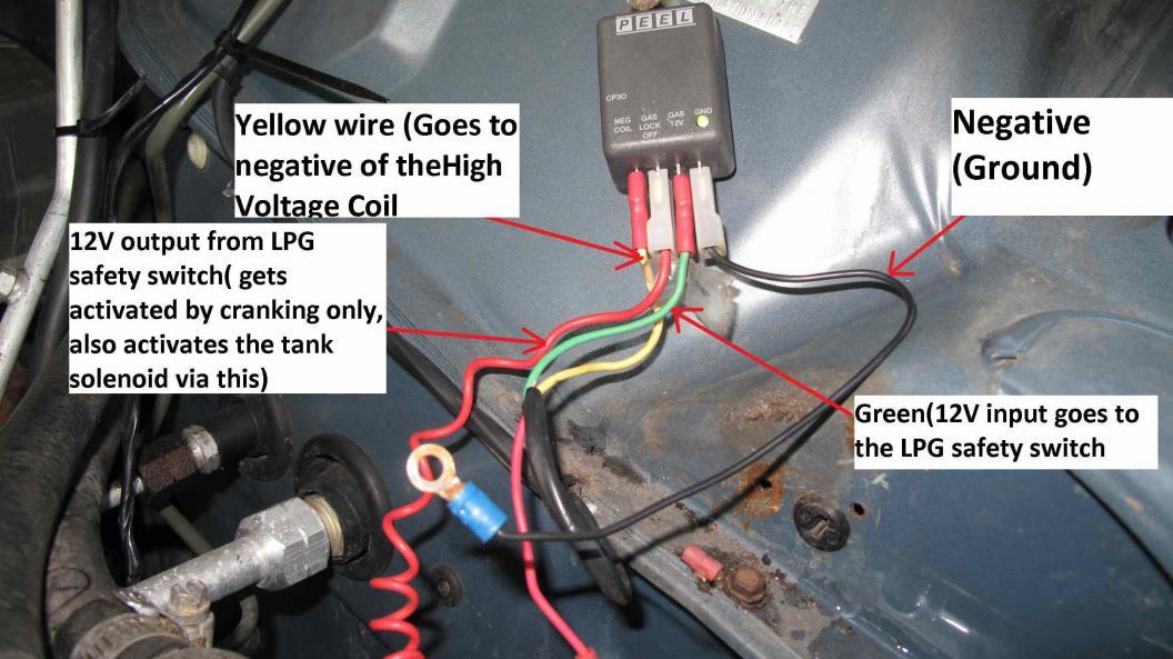 Gq Rb30 Starts On Petrol But No Good, Lpg Petrol Switch Wiring Diagram