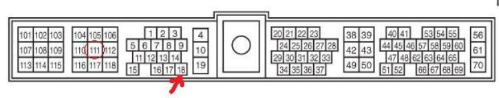 Wiring colours/diagram ZD30 ECU (10/2001)   Patrol 4x4 - Nissan