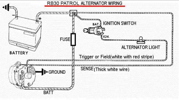 [SODI_2457]   Alternator regulator - How does it sense?! | Patrol 4x4 - Nissan Patrol  Forum | Alternator Exciter Wiring Diagram |  | Nissan Patrol Forum