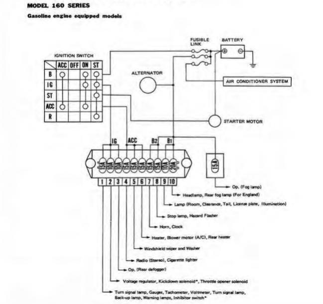 Wiring Diagram Nissan Patrol 160