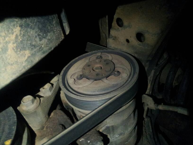 zd30 ac compressor pulley | Patrol 4x4 - Nissan Patrol Forum