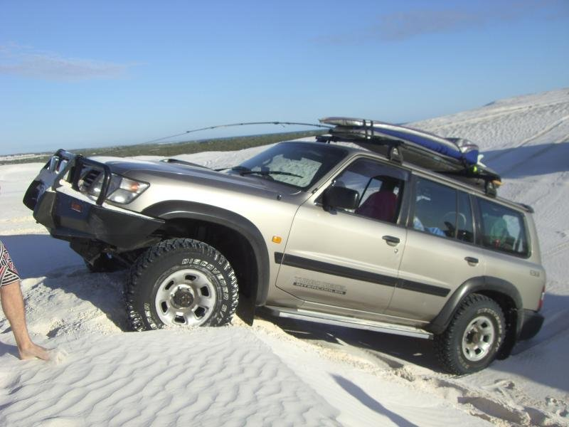 Showcase cover image for spacekadet's 1999 Nissan GU Patrol