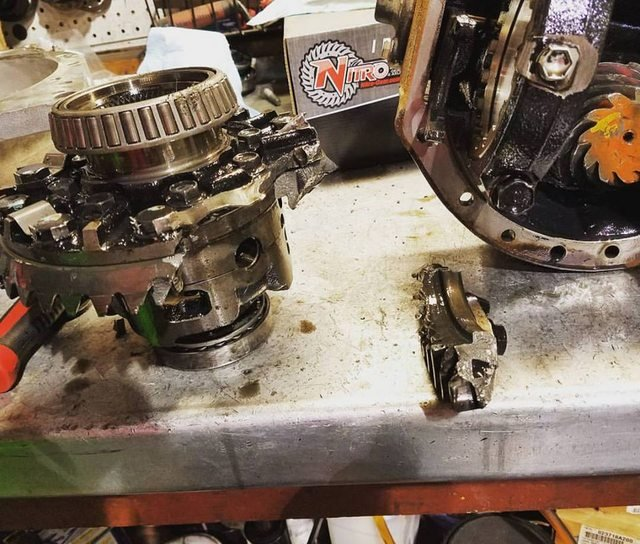Nitro Gear 4 63 Ratio R&P for Nissan H233b F/R, Patrol GU