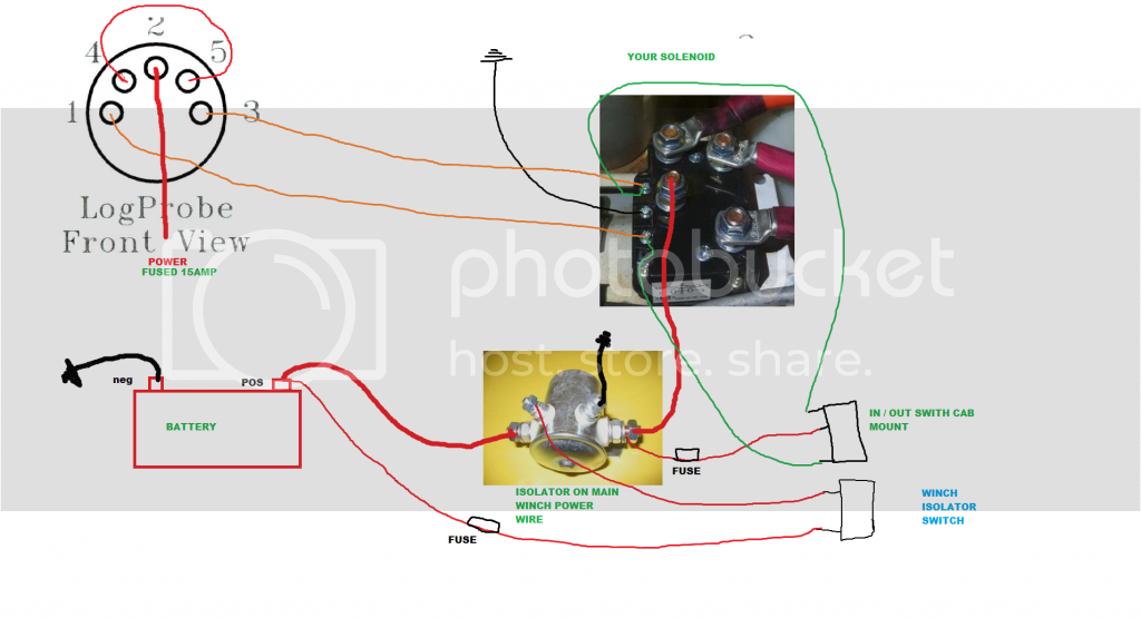 warn winch 5 pin solenoid to albright | Patrol 4x4 - Nissan ... on