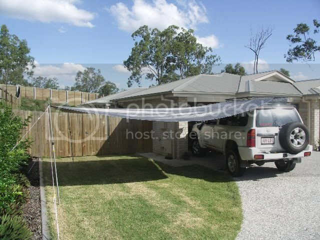 Roll out roof rack awning | Patrol 4x4 - Nissan Patrol Forum