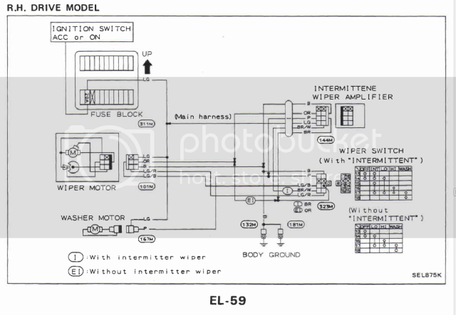 urgent  wiring diagram of front wipers   Patrol 4x4 - Nissan Patrol