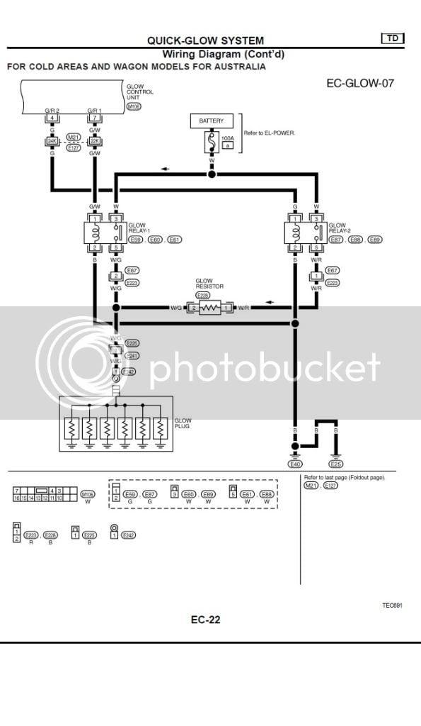 Electrical    Diagram     GU Patrol 2003 42TDI   Patrol 4x4