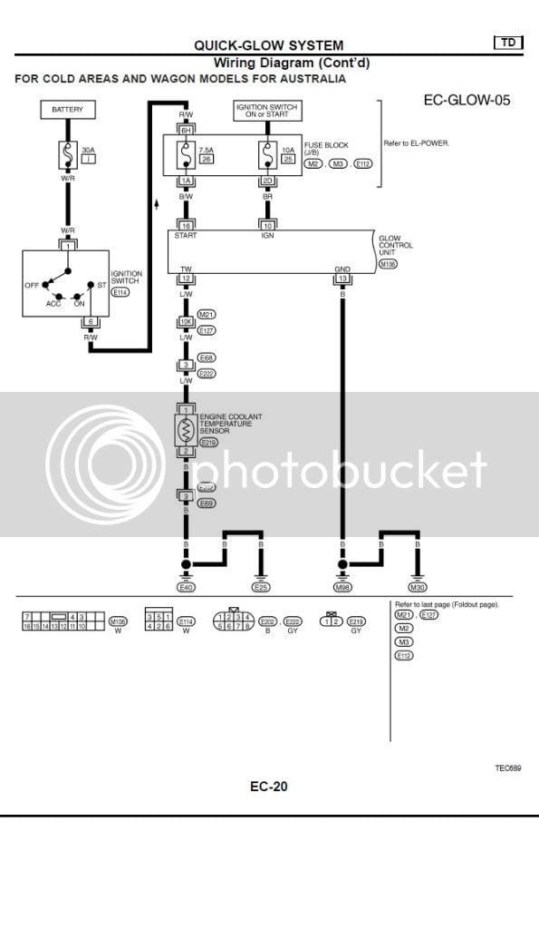 Electrical Diagram - Gu Patrol 2003 4 2tdi