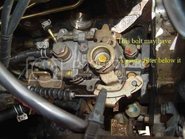 Td42 Fuel Pump Diagram   Power Issues