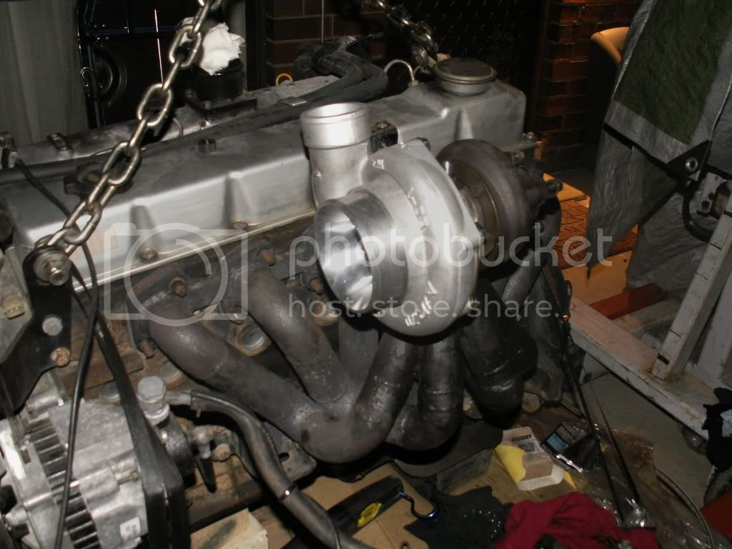 Td42  Hi mount manifold | Patrol 4x4 - Nissan Patrol Forum