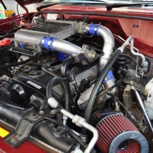 RB25DET Engine Bay 2