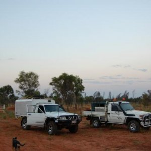 Me and my mates Cruiser some where in NT