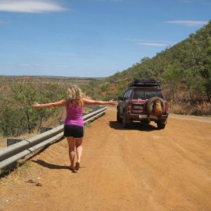 Headn for home,Gibb River road trip.