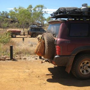 The Vehicle of choice up in the Kimberlies