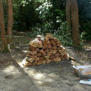 now thats a pile of firewood