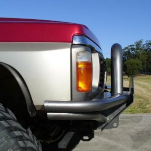 Custom Winch Bar by Offroad Division